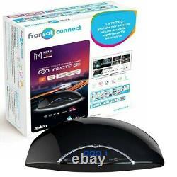 Fransat Aston Maya Twin Connect HD Set Top Box & Card, including the WIFI