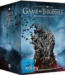 Game of Thrones, Die komplette Serie, Staffel 1-8, DVD Box Set, neu ovp top