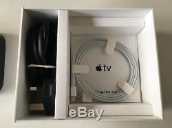 Genuine Apple TV MQD22B/A Smart Set Top Box 4K 32 GB Hard Drive Black UK MAINS