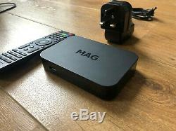 Genuine Infomir MAG MAGBOX 256W1 IPTV WiFi Set-Top Box Great condition
