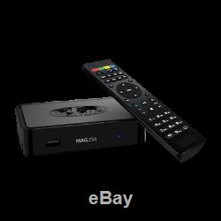 Genuine MAG 254 w1 Infomir IPTV/OTT Set-Top Box WLAN WiFi 150Mbs PLUG & PLAY