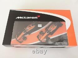 Gift Set McLaren MCL32 Fernando Alonso + Stoffel Vandoorne 1/43 TOP in Box