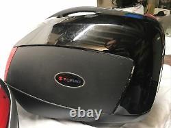 Givi Suzuki 1250 Top Box And Panniers Set
