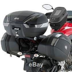 Givi Top Box set up Yamaha MT-07 (14-15) V47NNT box, 2118FZ rails & M5 plate