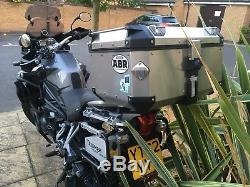 Givi Trekker Outback, Full Set Up, Rails, Panniers Top Box