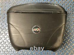 Givi Wingrack Luggage Set Top Box Case Rack Rails Pannier Key Honda VFR750 94-97