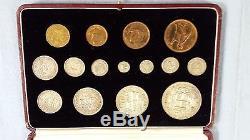 Great-Britain Set 1937 orig Box all in top shap, no hailines-no finger. Est$675