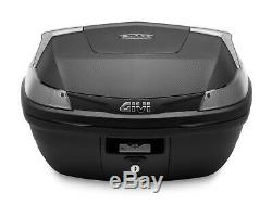 HONDA CB 125 R 2019 TOP BOX complete set GIVI B47 CASE 47L + SR1164 RACK + PLATE