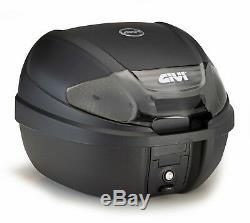HONDA CB 125 R 2019 TOP BOX complete set GIVI E300NT2 CASE + SR1169 RACK + PLATE