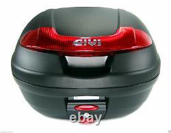 HONDA CB 125 R 2019 TOP BOX complete set GIVI E340N CASE + SR1169 RACK + PLATE
