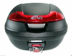 HONDA CB 500 X 2018 TOP BOX complete set GIVI E340N CASE + 1121FZ RACK CB500X