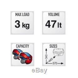HONDA CRF 250 L 2017 TOP BOX SET complete GIVI B47NT CASE + SR1159 RACK + PLATE