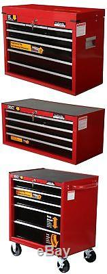 Halfords Professional Tool Box Chest Set Roll Cab / Intermediate / Top Box