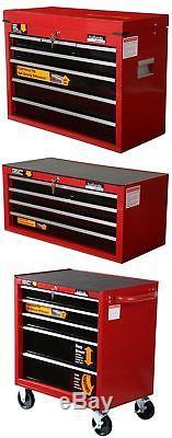 Halfords Professional Tool Box Chest Set Roll Cab / Intermediate / Top Box