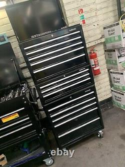 Halfords Tool Box Set Up Top Middle Roll Cab