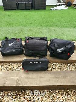 Honda CRF1000L Africa Twin genuine OEM pannier and top box inner bags set of 4