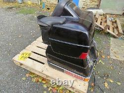 Honda gl 1200 goldwing aspencade 84-87 full set luggage with top box paniers