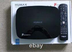 Humax Aura Freeview play Android TV set top box 1tb