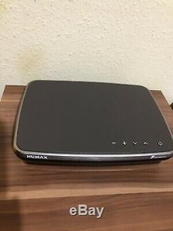 Humax FVP-4000T Mocha 500GB Freeview Set Top Box Recorder Play HD TV withRemote