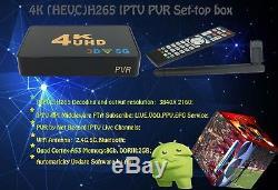 IPTV 4K 5G PVR Linux Set Top Box