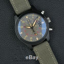 IWC Fliegerchronograph TOP GUN MIRAMAR IW388002 FULL SET Box Papiere 45mm