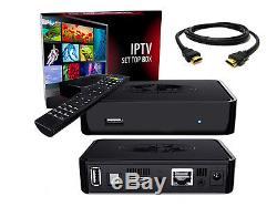 Infomir MAG 254 IPTV set top box MAG254 original made in Ukraine + HDMI cable