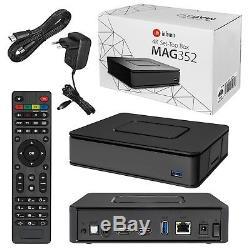 Infomir MAG 352 Premium IPTV/OTT Set-Top-Box, BCM75839, Linux 3.3, Op