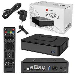 Infomir MAG 352 Premium IPTV/OTT Set-Top-Box, BCM75839, Linux 3.3, OpenGL ES 2.0