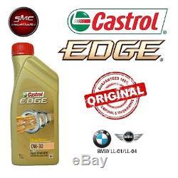 Inspektionskit L Castrol Edge 0w30 8lt 4 Filter Bosch Bmw 3 E90 330d 170 Kw