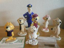 John Beswick Royal Doulton Exclusive Top Cat Full set of figurines 7 figures