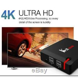 KIII PRO Smart TV Box Android7.1 QuadCroe 3+16G 4K WIFI Set-top Box Media Player