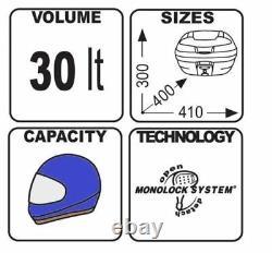 KTM 390 Adventure 20 TOP BOX set GIVI E300NT2 CASE + SR7711 TOPBOX RACK + PLATE