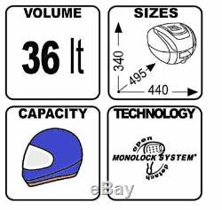 KTM Duke 125 2015 TOP BOX complete set GIVI B360 TECH CASE + SR7701 RACK + PLATE