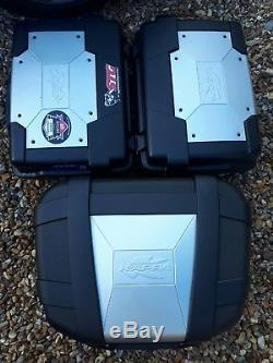 Kappa Monokey adventure panniers & top box set and frame KGR33 Varadero Xl1000