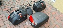 Kawasaki ZZR 1400 Luggage Set Panniers Top Box GIVI