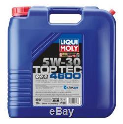 LIQUI MOLY 3757 Top Tec 4600 Motoröl SAE 5W-30 1 x 20 L für MASERATI MERCEDES