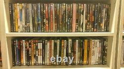 Large DVD movie music collection lot with top rare titles box sets virtually new