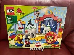 Lego Duplo Lego Ville 5593 Circus Big Top Animals People Cannon Bricks Set NISB