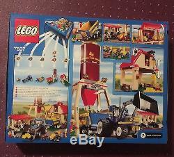 Lego New City Farm Set 7637 box Top Corner Has Peeled Sticker Mark
