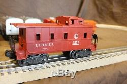 Lionel O gauge 2023 AA Union Pacific Gray top set lite caboose, no box