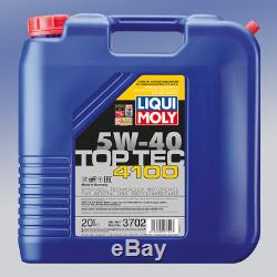 Liqui Moly 3702 TopTec 4100 5W-40 1 x 20 Liter Motor-Öl