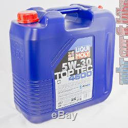 Liqui Moly 5W-30 Hochleistungs Leichtlauf-Motorenöl 20L TopTec 4600