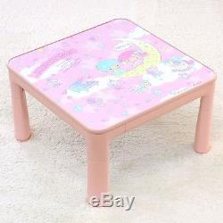Little Twin Stars kotatsu Table & top plate set (Toy Box) Sanrio Kawaii Japan