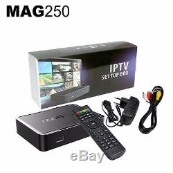 MAG256 IPTV / Set Top Box + 12 months channel warranty