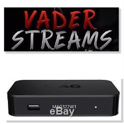 MAG322W1 IPTV Set Top Box 12 Months Gift Warranty Plug & Play