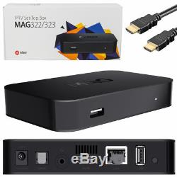 MAG322W1 IPTV Set Top Box With 12 Month's VOD Package. WIFI Model