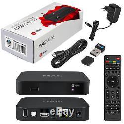 MAG 254 IPTV SET TOP BOX Streamer Multimedia player Internet + Wlan Stick + HDMI