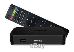MAG 256 Full HD HEVC IPTV Receiver Multimedia Player SET-TOP-BOX