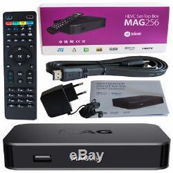 MAG 256 Genuine Infomir Set-Top Box 12 Months IPTV/OTT HD + VOD 100%BEST SERVICE