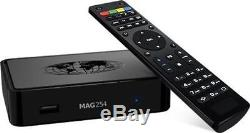 MAG 256 IPTV Set-Top-Box BRAND NEW MAG256+WI-FI Antenna+ Free HDMI